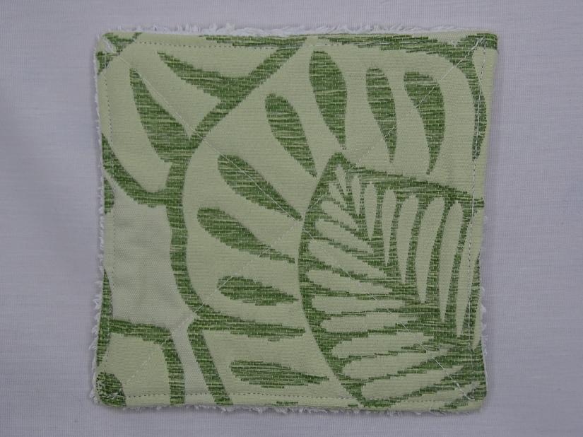 towel-green-washable reusable sheet